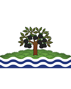 Fahne: Flagge: Worcestershire
