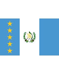 Fahne: Flagge: President of Guatemala | En President of Guatemala standard | Estandarte del presidente de Guatemala