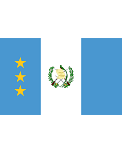 Fahne: Flagge: President of the Supreme Court of Justice of Guatemala | President of the Guatemalan Congress