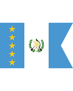 Fahne: Flagge: Vice-President of Guatemala | Vice-presidential flag of Guatemala
