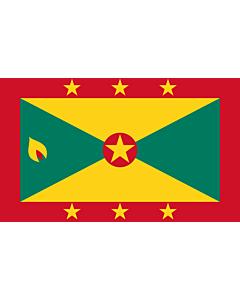 Fahne: Flagge: Grenada