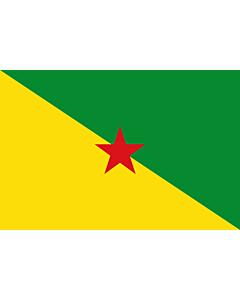 Fahne: Flagge: Französisch-Guayana