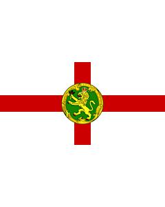 Fahne: Flagge: Alderney | Couleu de Aurni