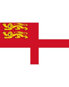 Fahne: Flagge: Sark | Sercq | Couleu de Ser