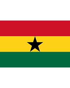 Fahne: Flagge: Ghana