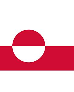 Fahne: Flagge: Grönland