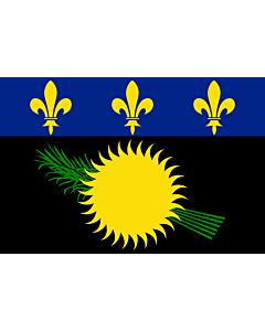 Fahne: Flagge: Guadeloupe