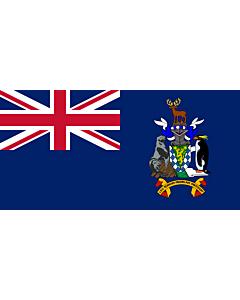 Fahne: Flagge: Südgeorgien und die Südlichen Sandwichinseln