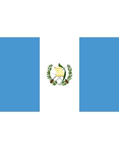 Fahne: Flagge: Guatemala