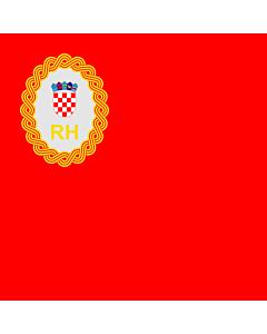 Fahne: Flagge: Präsidenten des kroatischen Parlaments