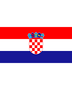Fahne: Flagge: Kroatien