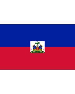 Fahne: Flagge: Haiti