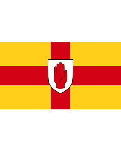 Fahne: Flagge: Ulster