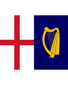 Fahne: Flagge: Commonwealth-Flag-1649 | Commonwealth flag of 1649, as per FOTW United Kingdom Flags of the Interregnum