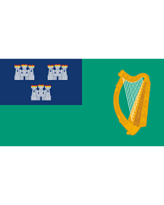 Fahne: Flagge: IRL Dublin | Dublin City, Ireland