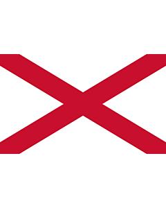 Fahne: Flagge: St Patrick s saltire