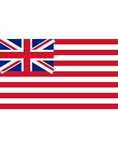 Fahne: Flagge: British East India Company  1801 | British East India Company