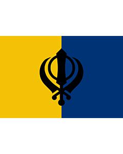 Fahne: Flagge: Of-Khalistan