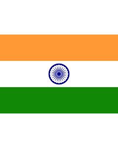 Fahne: Flagge: Indien