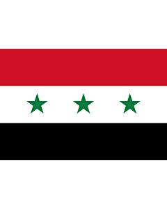 Fahne: Flagge: Iraq 1963-1991