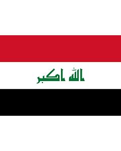 Fahne: Flagge: Irak