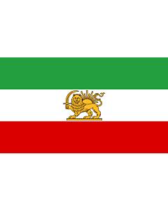 Fahne: Flagge: State Iran 1964