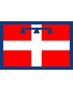 Fahne: Flagge: Piedmont