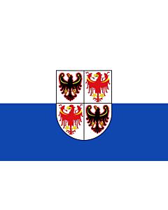 Fahne: Flagge: Südtirol (Trentino)