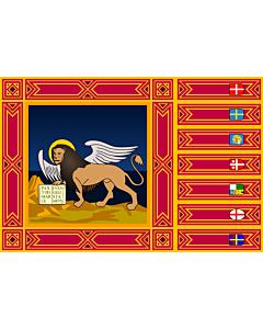 Fahne: Flagge: Venetien