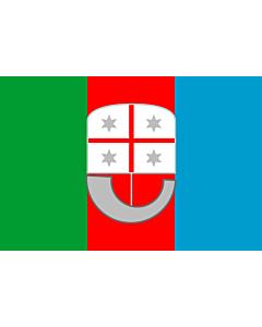Fahne: Flagge: Ligurien