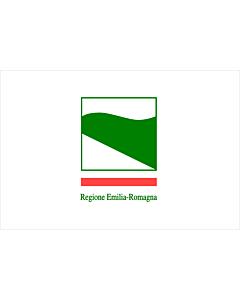 Fahne: Flagge: Emilia-Romagna