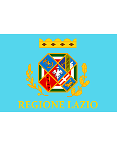 Fahne: Flagge: Latium