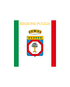 Fahne: Flagge: Apulien