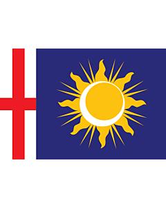 Fahne: Flagge: Provinz Mailand