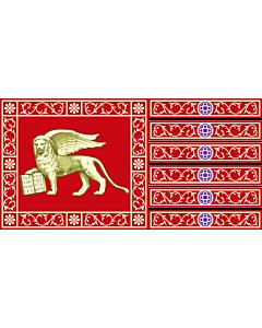 Fahne: Flagge: Provinz Venedig