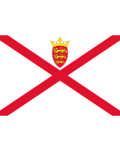 Fahne: Flagge: Jersey (Kanalinsel)