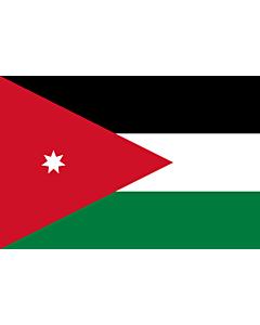 Fahne: Flagge: Jordanien