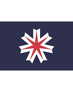 Fahne: Flagge: Hokkaidō