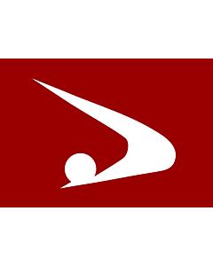 Fahne: Flagge: Präfektur Akita