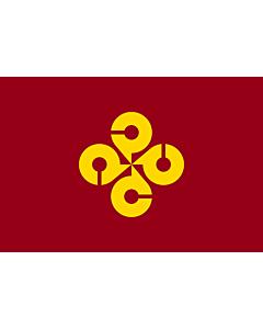 Fahne: Flagge: Präfektur Shimane