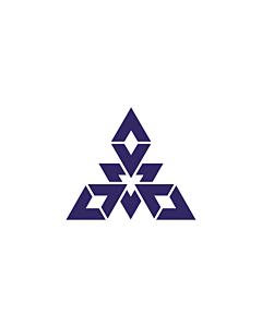 Fahne: Flagge: Fukuoka