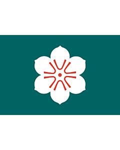 Fahne: Flagge: Präfektur Saga