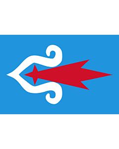 Fahne: Flagge: Ainu