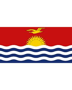 Fahne: Flagge: Kiribati
