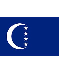 Fahne: Flagge: Grande Comore