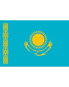Fahne: Flagge: Kasachstan