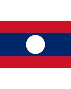 Fahne: Flagge: Laos