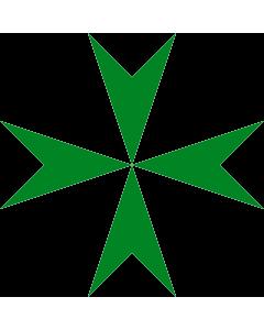 Fahne: Flagge: Lazarus-Orden