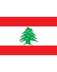 Fahne: Flagge: Libanon