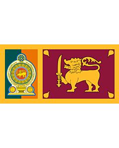 Fahne: Flagge: Sri Lankan Army